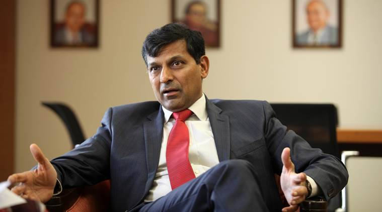 RBI governor Raghuram Rajan during interview at RBI Head quarter on Wednesday. Express Photo by Prashant Nadkar. 03.06.2015. Mumbai.