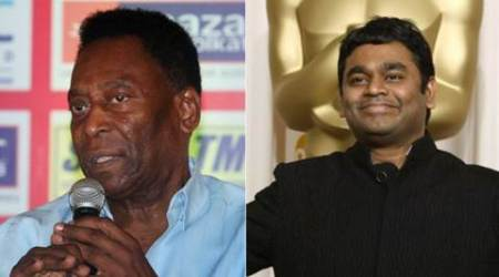 A.R. Rahman 'excited' to meet Pele in Kolkata