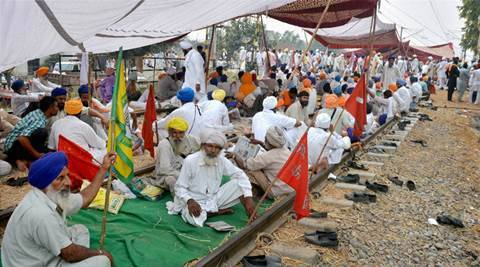 rail blockade, punjab farmers rail protest, punjab farmers agitation, punjab farmers rail blockade, rail roko andolan, indian railways, punjab rail blockade, rail blockade lifted, rail blockade called off, punjab news, india news, latest news,