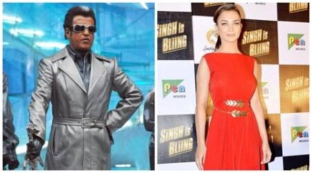 Amy Jackson bags the lead role opposite Rajinikanth in 'Robot 2'