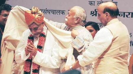 ashok sinhgal, ashok singhal birthday, vhp, rajnath singh, india news, latest news, mohan bhagwat, bjp, news