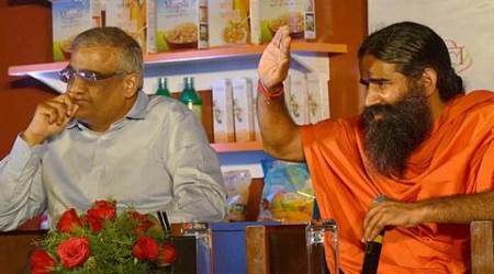 ramdev, patanjali, future group, big bazar, future group patanjali, patanjali noodles, ramdev patanjali products, ramdev's noodles launch, india news, business news, latest news