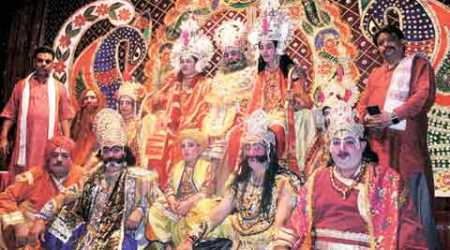 A Ramleela tradition six decades old