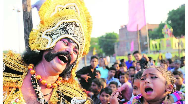 dussehra, durga puja celebration, Ravan effigies, chandigarh news