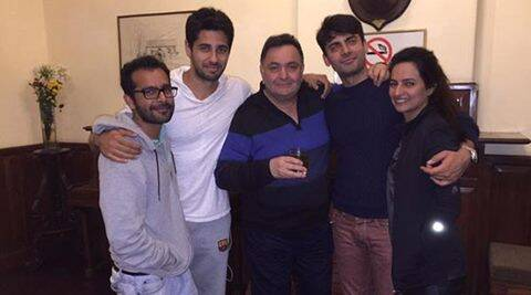 Fawad Khan, Rishi Kapoor, Kapoor and Sons, Fawad Khan Rishi Kapoor, Fawad Khan in Kapoor and Sons, Rishi Kapoor in Kapoor and Sons, Entertainment News