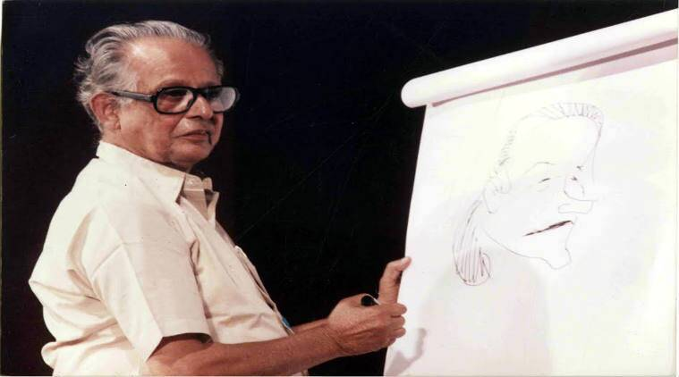 RK Laxman's memorial to be housed in Sir J.J. School of Art/ Express Archive