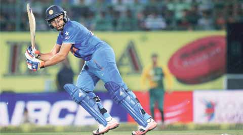 Talking sport: Rohit Sharma has asked us to redefine what we traditionally call 'talent'