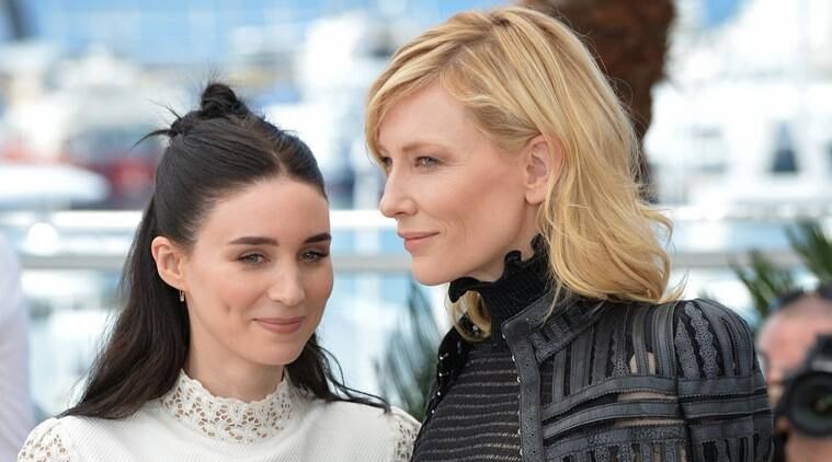 Falling In Love With Cate Blanchett Was Easy For Rooney Mara  The Indian Express-8478