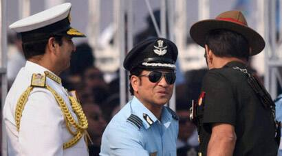 Sachin Tendulkar joins 83rd Air Force Day celebrations