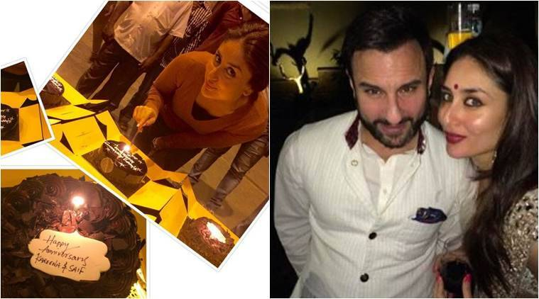 kareena kapoor, kareena kapoor wedding anniversary, kareena kapoor news, saif ali khan, kareena kapoor saif ali khan, kareena saif, saif kareena wedding, kareena saif wedding anniversary