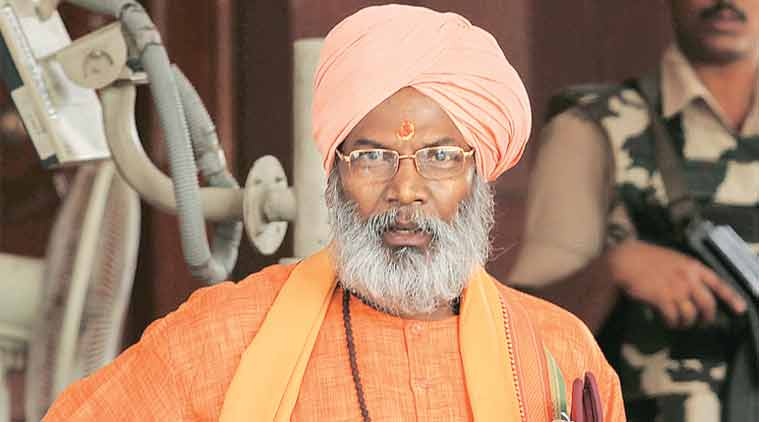 Sakshi Maharaj, Sakshi Maharaj anti Muslim remark, Sakshi Maharaj four wives forty children remark, Sakshi Maharaj election commission news, Latest news, Uttar Pradesh News, India news, National news