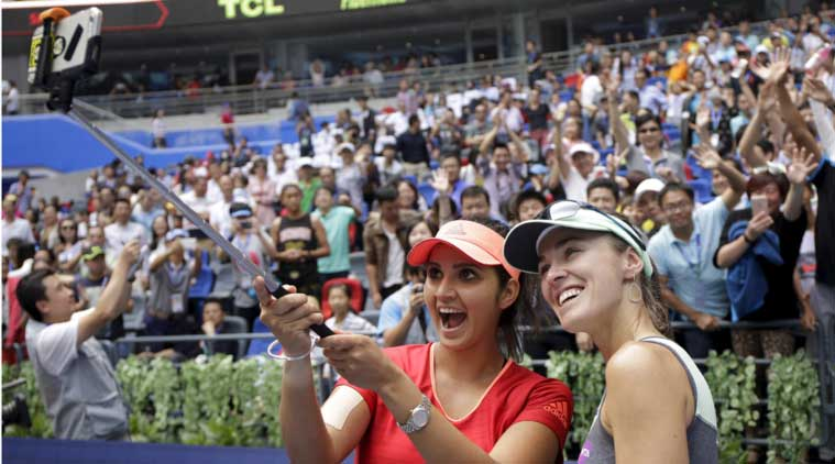 Sania Mirza, Sania, Martina Hingis, Hingis, China Open 2015, China Open tennis, China Open 2015 tennis, tennis news, tennis