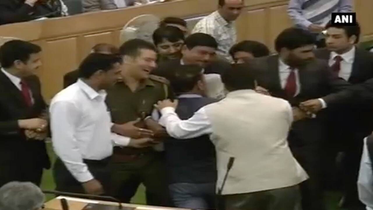 J&K Beef Ban: Opposition Parties Create Ruckus In State Assembly