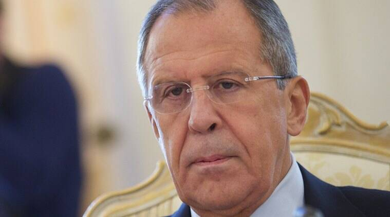 Russian Foreign Minister Sergey Lavrov (AP photo)