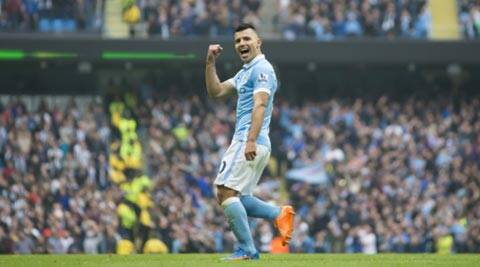 Sergio Aguero back to his best with five-goal haul