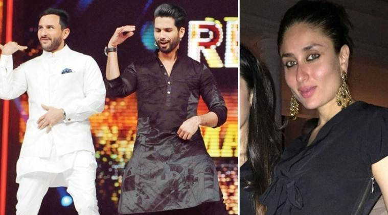 Shahid Kapoor, Saif Ali Khan, Kareena Kapoor, Shahid Kapoor Saif Ali Khan, shahid kapoor kareena kapoor, Saif Ali Khan Kareena Kapoor, Shahid Saif, Shahid Kareena, Saif Kareena, Rangoon, Vishal Bhardwaj, Entertainment news