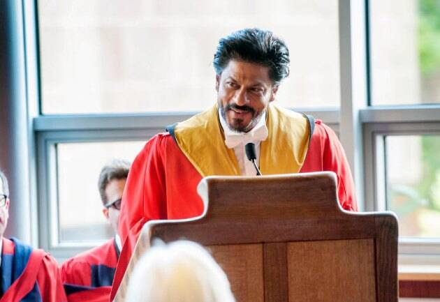 Shah Rukh Khan, Shah Rukh Khan receives doctorate, University of Edinburgh, bollywood