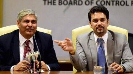 Shashank Manohar formally elected as BCCI president