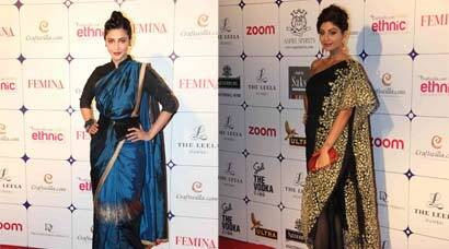 Ethnic divas Shruti Haasan, Shilpa Shetty deck up