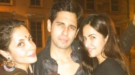 Sidharth Malhotra, Katrina Kaif at 'Baar Baar Dekho' wrap up party