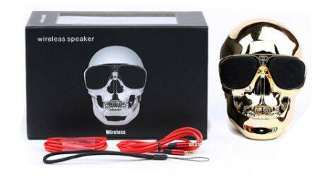 Spider Designs unveils Skull speakers inspired by Halloween theme