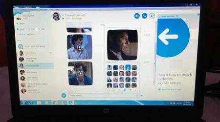 skype feature, skype top feature. skype new feature, skype, new feature of skype, top feature of Skype, SKYPE video expression, bollywood video expression, tech news, latest tech news