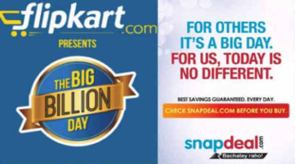 Chief Product Officers of Snapdeal and Flipkart took to twitter banter during their respective sales.