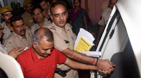 Domestic violence case: Somnath Bharti sent to jail till tomorrow