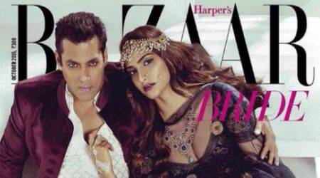 Salman, Sonam's scorching magazine cover shoot