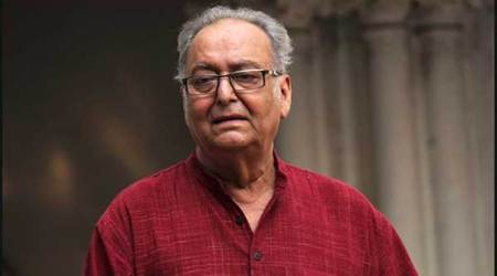 Top French honour for actor Soumitra Chatterjee