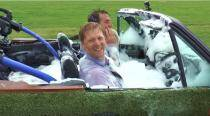 VIDEO: Watch gadget geek Colin Furze convert his old BMW into a 'hot spa tub'