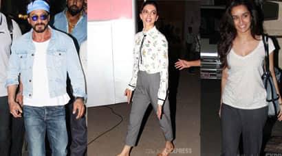 Shah Rukh Khan, SRK Gauri, SRK Gauri Khan, Mini Mathur, Deepika Padukone, Shraddha Kapoor, Konkona Sen Sharma, AIFW, Amazon India Fashion week photos