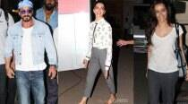 Shah Rukh Khan back in town for wife Gauri's birthday; Deepika, Shraddha spotted around town
