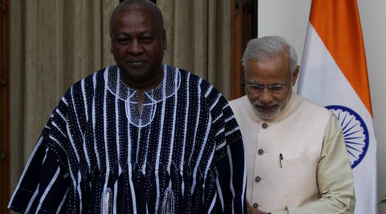 india africa, india africa summit, narendra modi, modi african delegates, Sushma Swaraj, africa india summit, india africa ties, india news, latest news, Nation news, india news