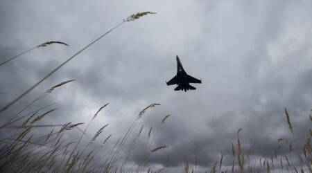 Russia says fighter jet intercepts US bomber on border