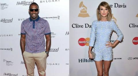 Taylor Swift, Idris Alba, hollywood, entertainment