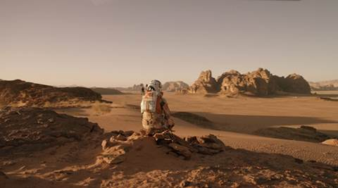'The Martian' estimated to mint $50 million over weekend