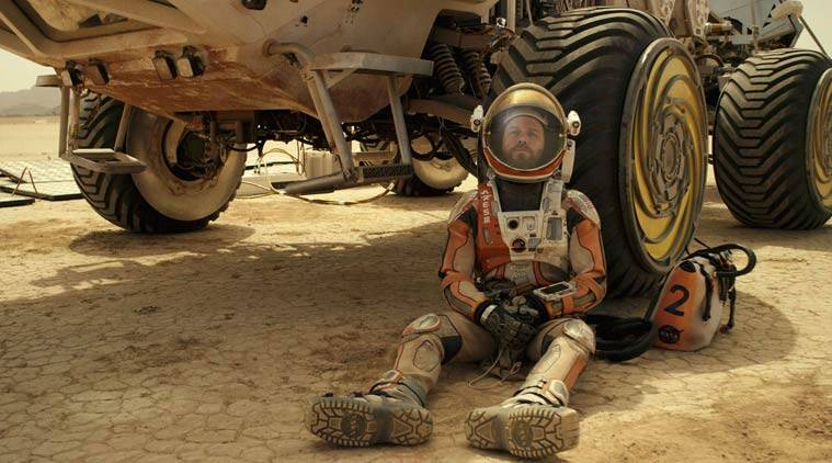 The Martian, The Martian review, The Martian movie, The Martian movie review, The Martian matt damon, matt damon, Matt Damon, Jessica Chastain, Michael Pena, Jeff Daniels, Chiwetel Ejiofor, Kristen Wiig, Sean Bean, ridley scott