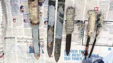 iPhone, chargers, handmade knives found in Tihar jail no 1