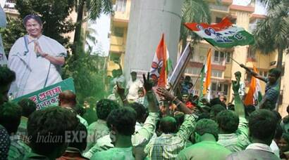 Bengal civic polls: Trinamool Congress flexes muscles, perform clean sweep