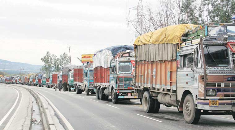Truck strike, trucker strike, transporter strike, transporter, strike, trucks, business news, india news