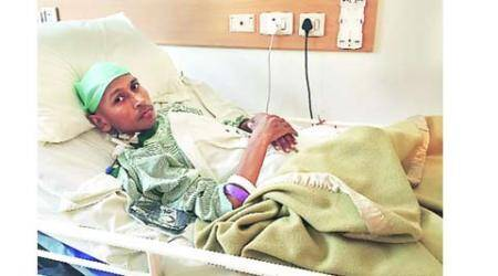 Doctors at Delhi hospital remove tumour weighing 55kg
