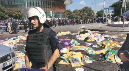 Turkey blasts, bombs blast, peace rally blast Ankara, Turkish rally blast, Nigeria Suicide bombers, IS, world news