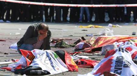 Twin blasts at Ankara peace rally kill 95, injure hundreds