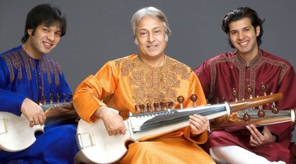Ustad Amjad Ali Khan, Amaan Ali Khan, ayaan Ali Khan, Ustad Amjad Ali Khan Sons, Ustad Amjad Ali Khan Washington, Ustad Amjad Ali Khan Utsav Festival, Ustad Amjad Ali Khan Kennedy center, Washington