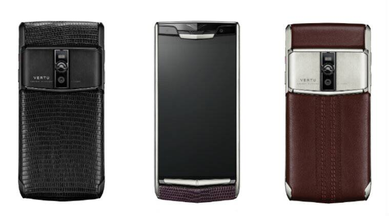 Vertu Signature Touch features a 5.2-inch display with fifth generation Sapphire Glass Crystal protection (Source: Vertu)