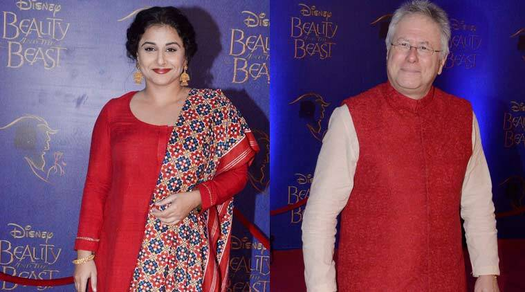 Vidya Balan, Alan Menken, Beauty and the Beast, Beauty and Beast musical Mumbai