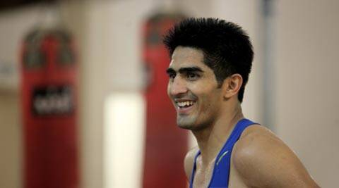 Vijender Singh wishes India luck for Boxing World Championships