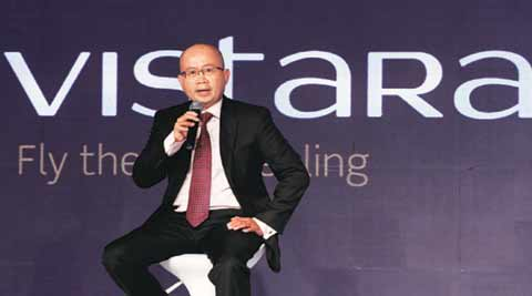 Food, check-in biggest pains for passengers: Phee Teik Yeoh, chief executive officer, Vistara