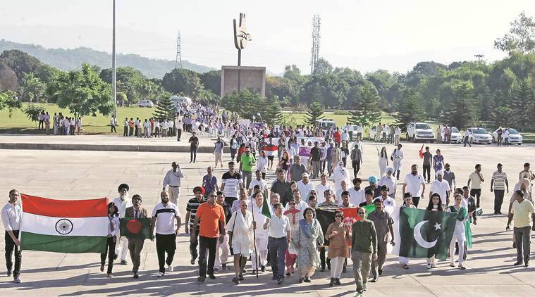 Global Youth Peace Fest, chandigarh walkathon, chandigarh news, india news, latest news, chandigarh marathon,